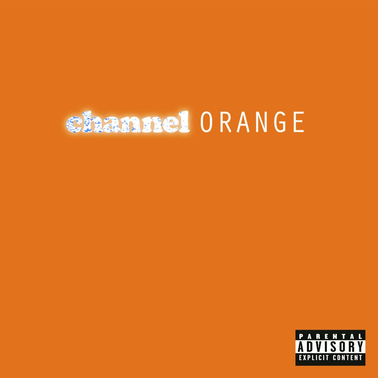 Frank Ocean Channel Orange