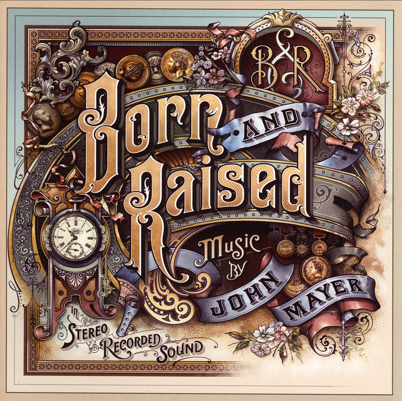 John Mayer - Born And Raised - Front