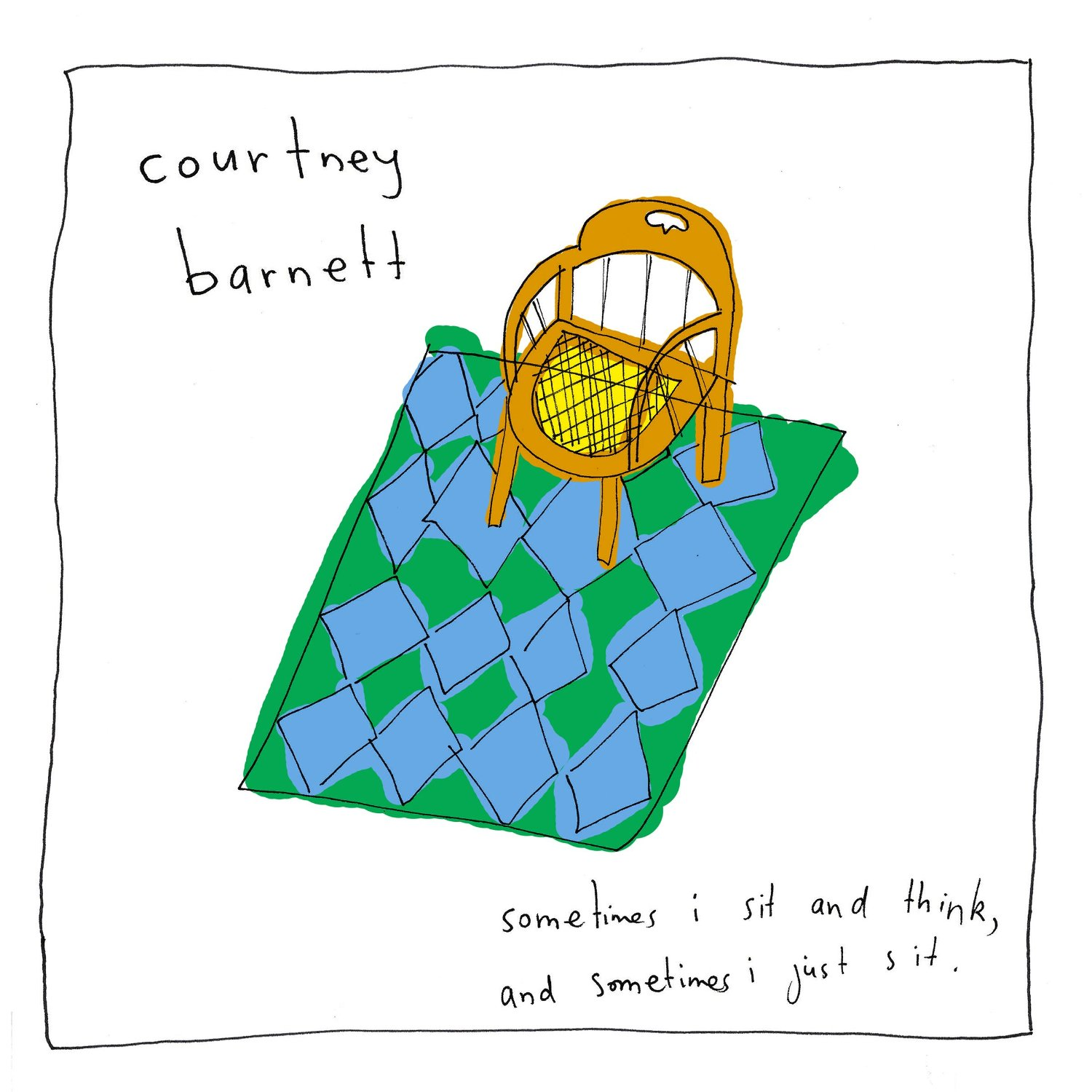 courtney barnett sometimes i sit