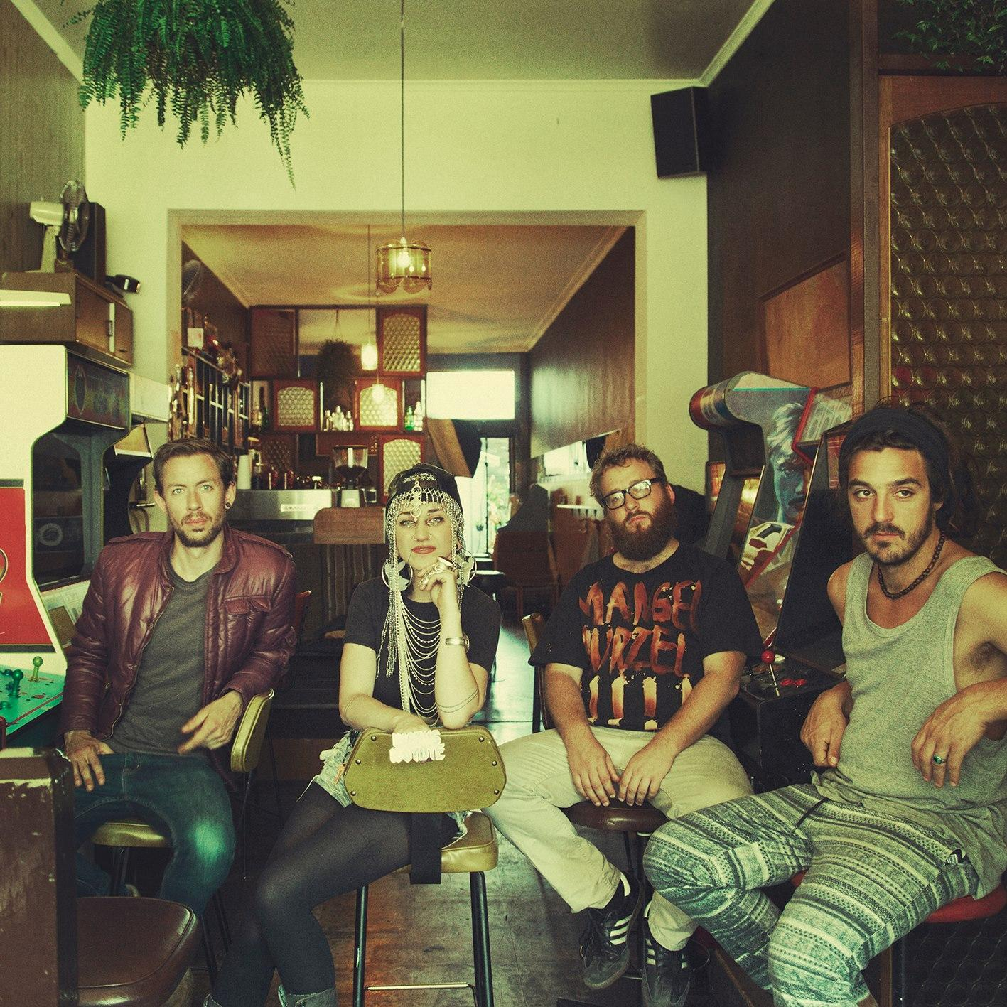 Hiatus Kaiyote Band Shot