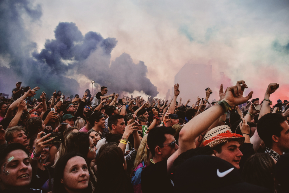 Festival flares